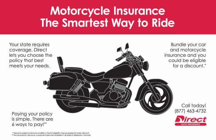 Motorcycle Insurance The Smartest Way to Ride - Direct Connect