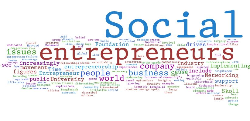 Effecting Change The Key Traits Of Social Entrepreneurship - entrepreneur examples