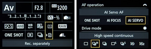Canon 7D Mark II menu custom function setting setup recommend guide how to tips tricks
