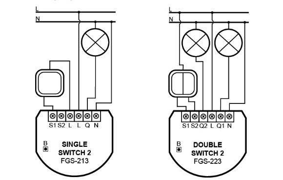 staircase switch schema cablage