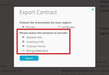 Tech Update Hiding Billing Addendum on ContractsDOmedia The Out - export contract sample