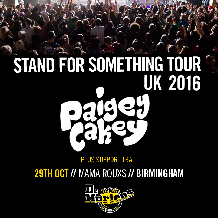 Paigey Cakey will be playing at the #SFSTOUR16 in Birmingham, 29th October.