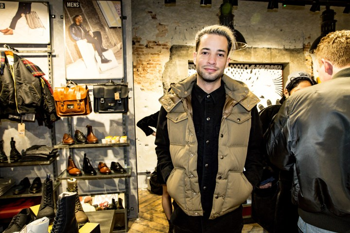 Guests at the Amsterdam 9 St Store launch.