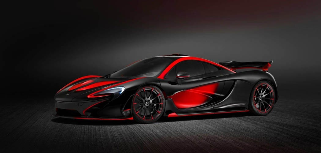 Lifestyle Blog Introduction Black Red Mclaren P1 From Mso