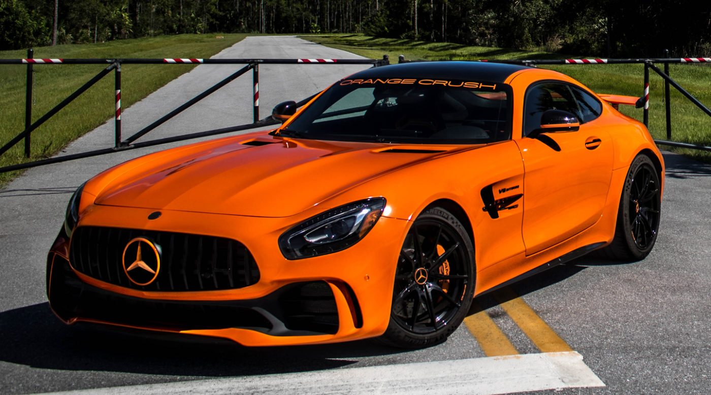 Audi Concept Car Wallpaper Renntech Amg Gt R The Orange Beast