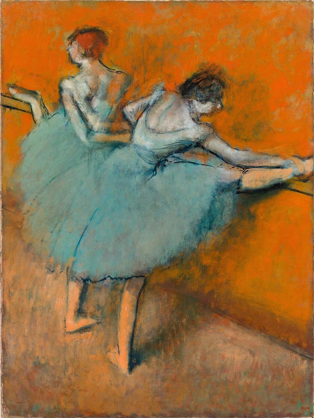Pinturas De Bailarinas La Phillips Collection Luce Sus Grandes Pinturas En Madrid El