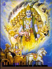 Lord Krishna Divine Form