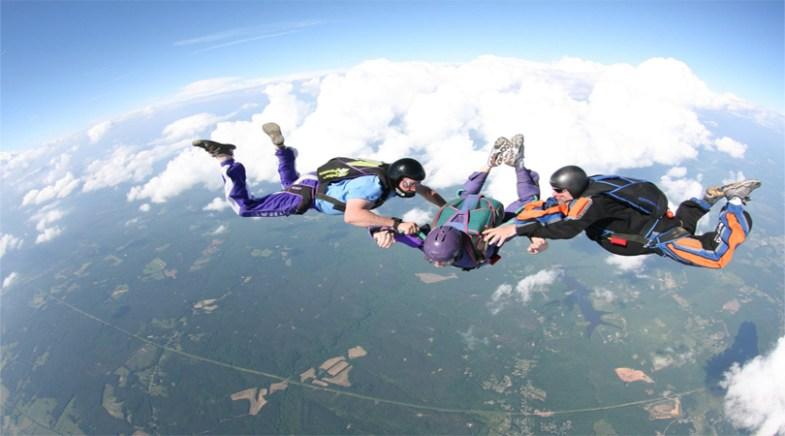 skydiving in pattaya