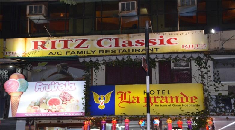 Ritz Restaurant in Lucknow