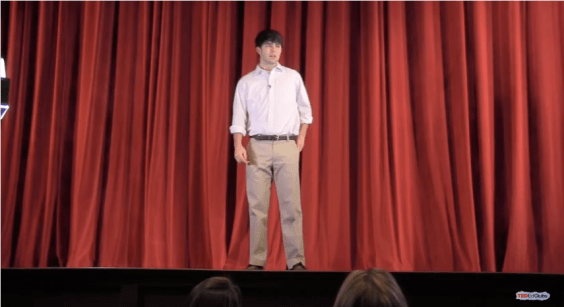 Alex O'Shaughnessy from The Lovett School's TED-Ed Club