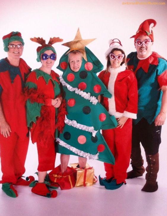 Las fotos familiares más originales de las fiestas de Navidad y