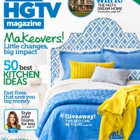 IN HER SHOES: HGTV Magazine