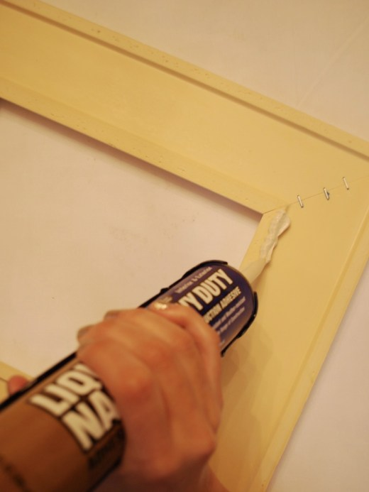 diy greek key frame