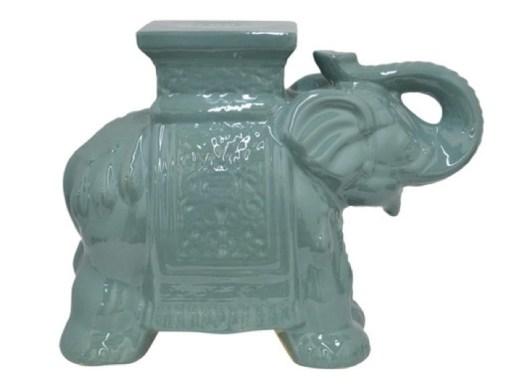 elephant garden stool
