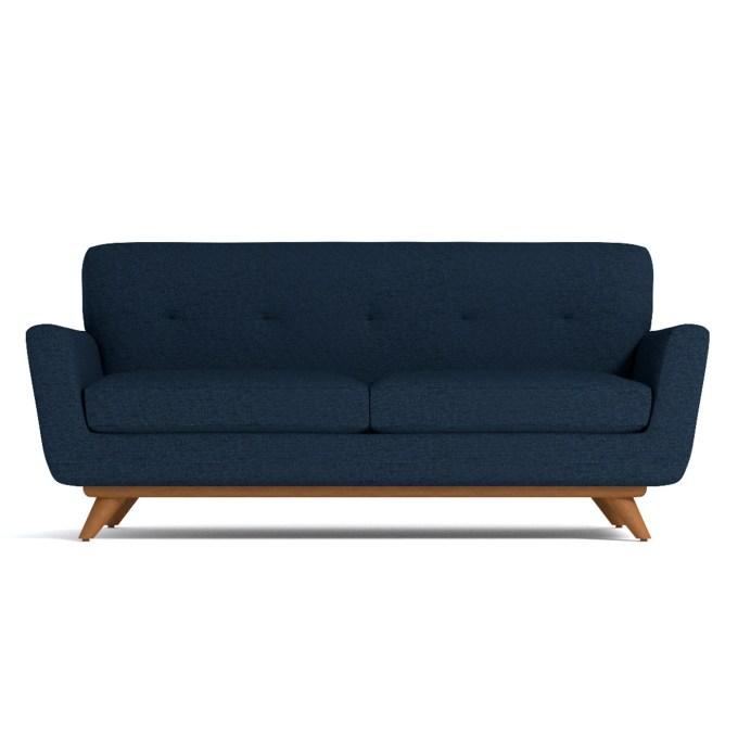 mid century sofa, budget friendly, home decor