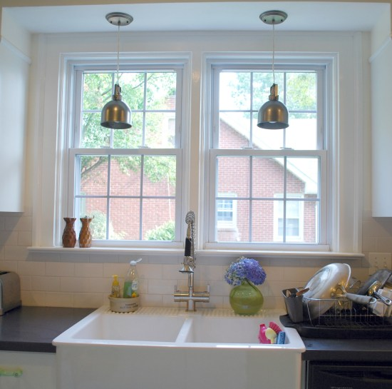 Pendant Lights For Kitchen Sink: DIY: Cheap High-Hat To Pendant Conversion