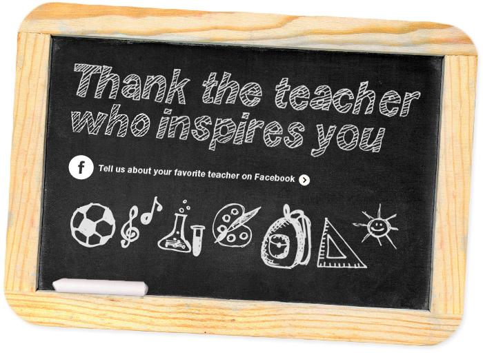 Teacher Appreciation Week 2012 - Who Inspires You? EF Tours Blog