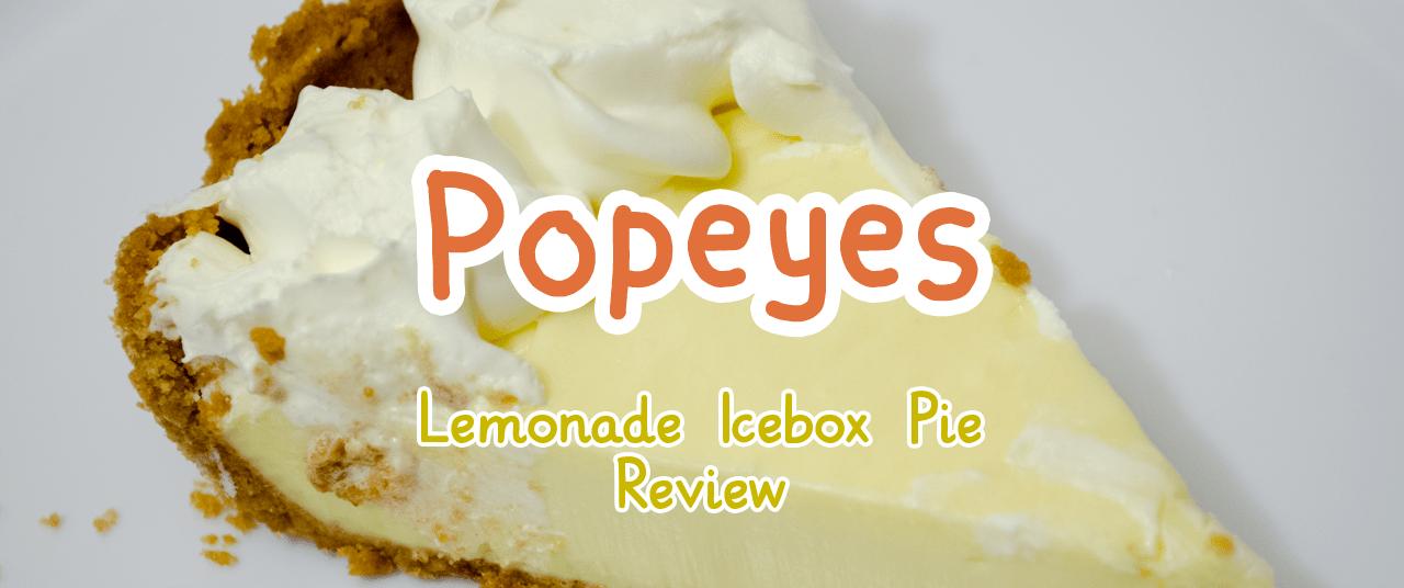 Food Popeyes Lemonade Icebox Pie Eggwarexyz Blog
