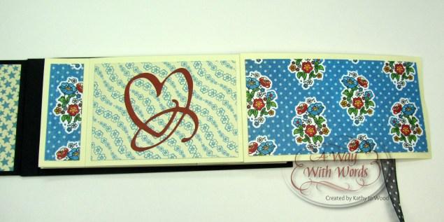 Elizabeth Craft Designs Suzanne Cannon Summer Graphic 45 mini album summer Mother Goose Kathy Jo Wood 8