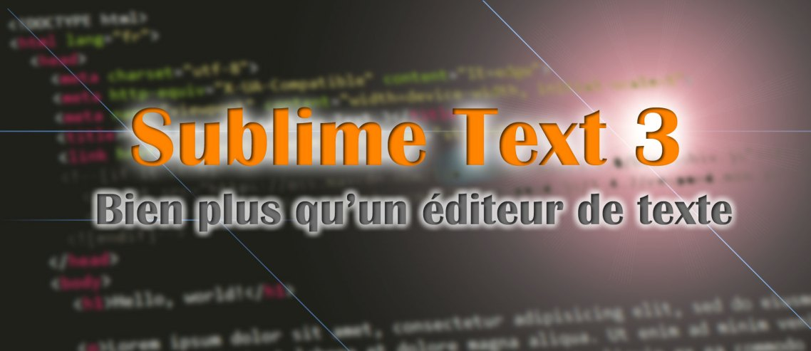 Sublime Text 3
