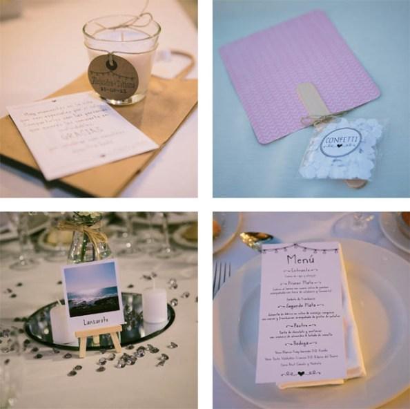 Románticos y bonitos detalles de la boda