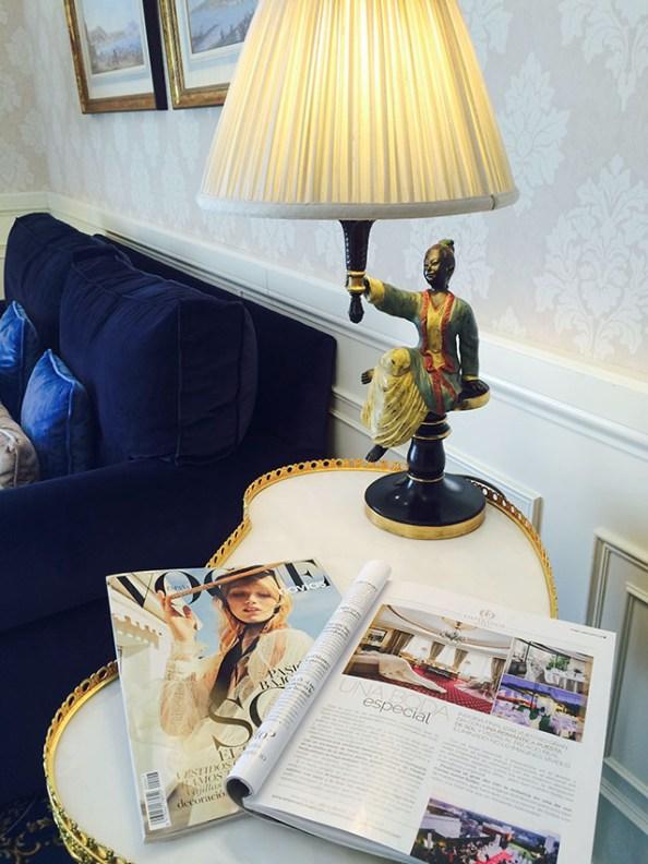 Hotel Emperador en el último Vogue Novias