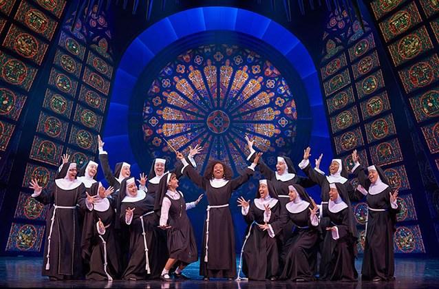 Divertidas escenas de Sister Act, el Musical
