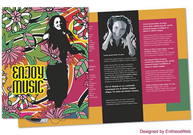 Free Coreldraw Music Brochure Download Entheos - music brochure