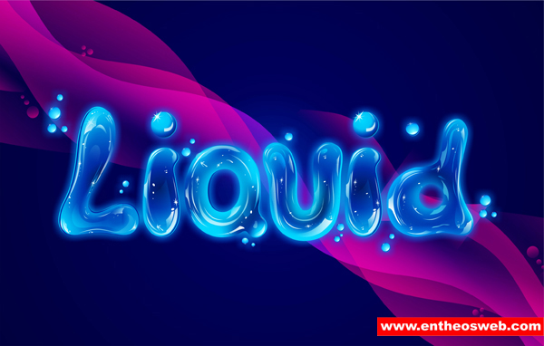 Create Liquid Text Effects with CorelDraw Entheos