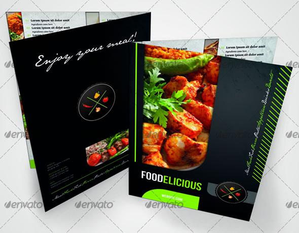 Mouth-Watering Restaurant Menu Designs Entheos