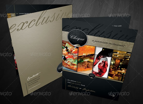 Mouth-Watering Restaurant Menu Designs Entheos