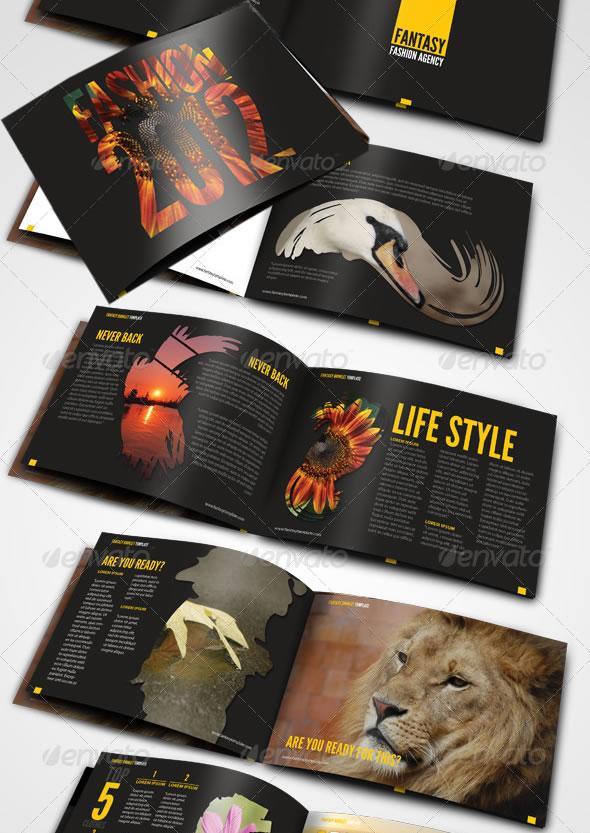 Professional Catalogue  Booklet Design Templates Entheos