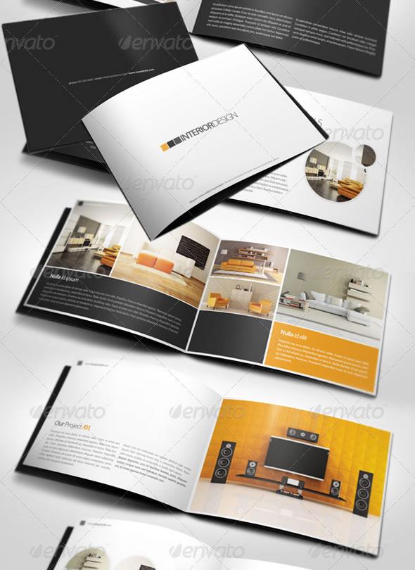 modern catalog magazine template