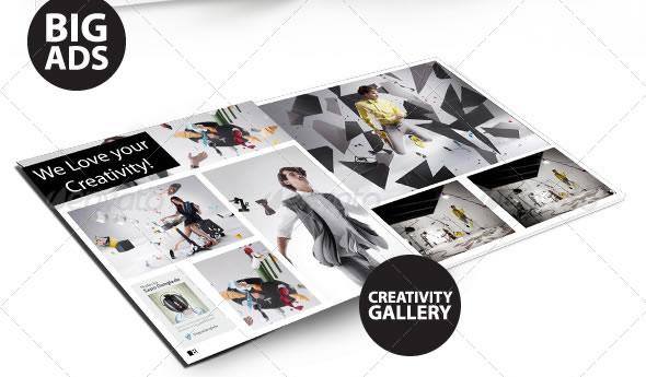 Creative Magazine Layout Design Ideas Entheos - free indesign template