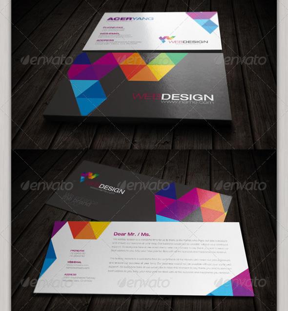 design flyer cv