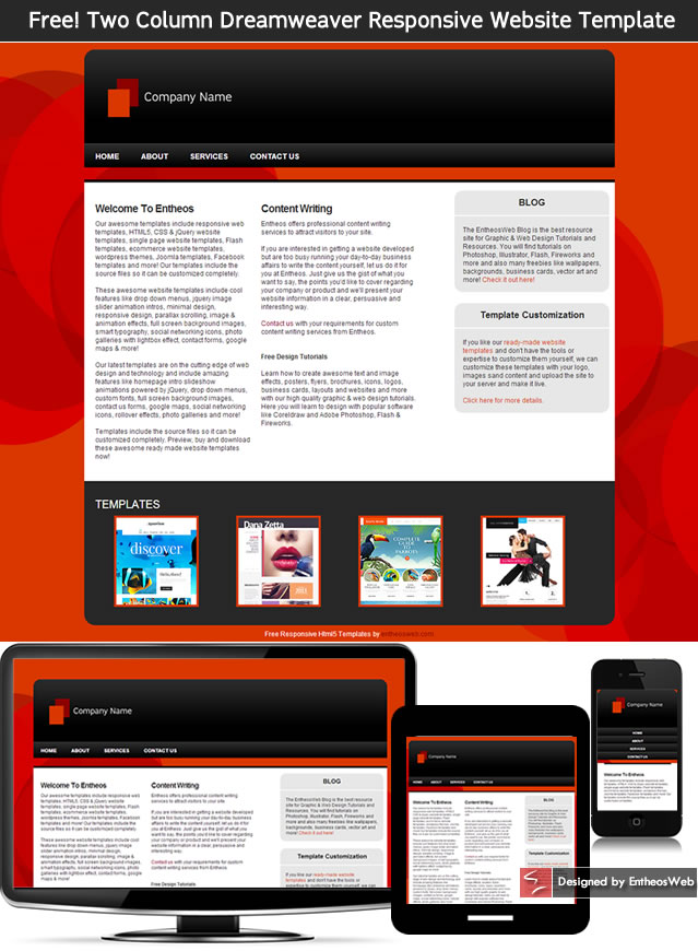 best cv website template