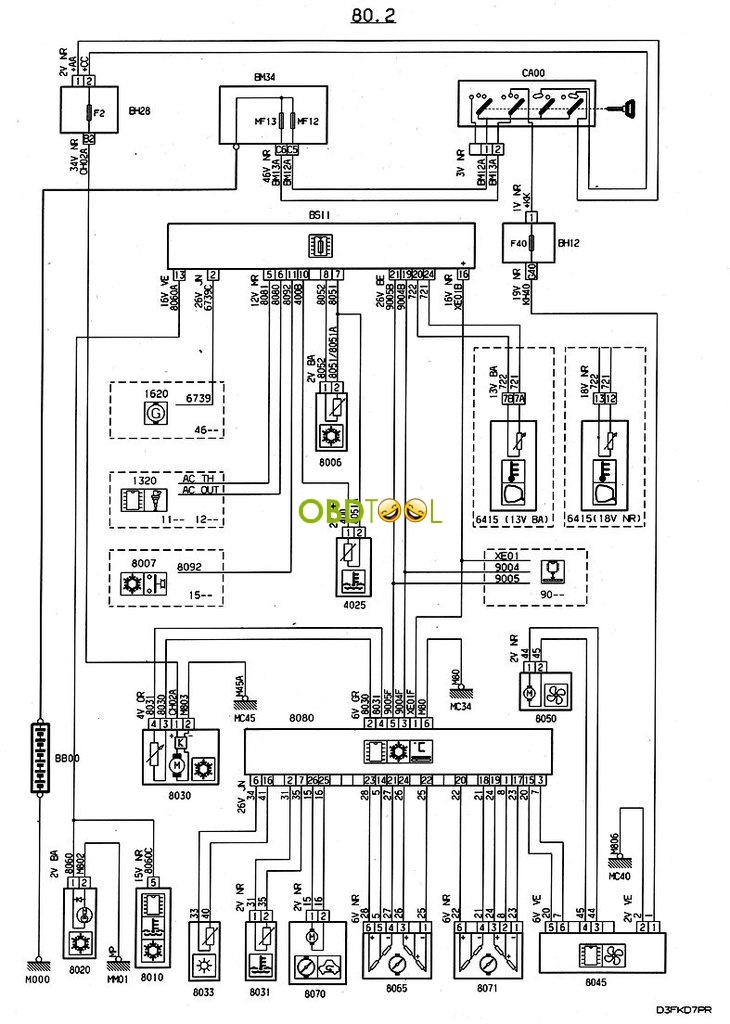 citroen nemo wiring diagram