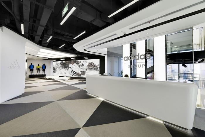 Adidas Office Shanghai China Eoffice Coworking