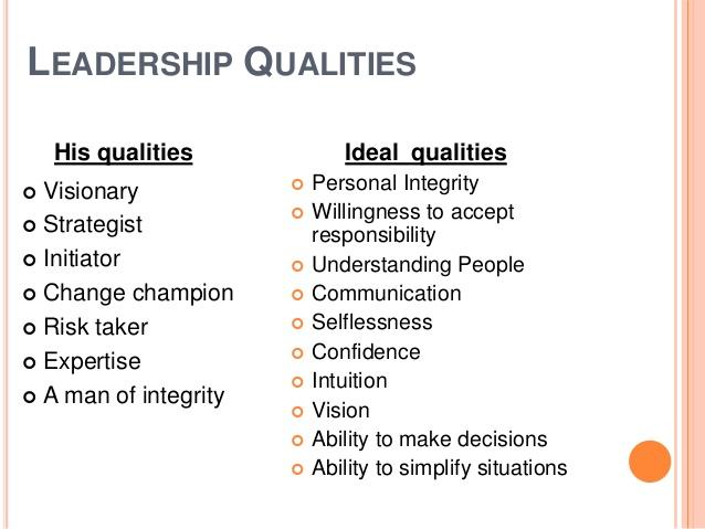 essay on characteristics of a good leader characteristics of a good