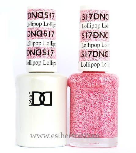 Uv Lamp New Daisy Dnd Glitter Colors 2015 — Esther's Nail Corner