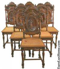 French Antique Dining Chairs | Antique Furniture