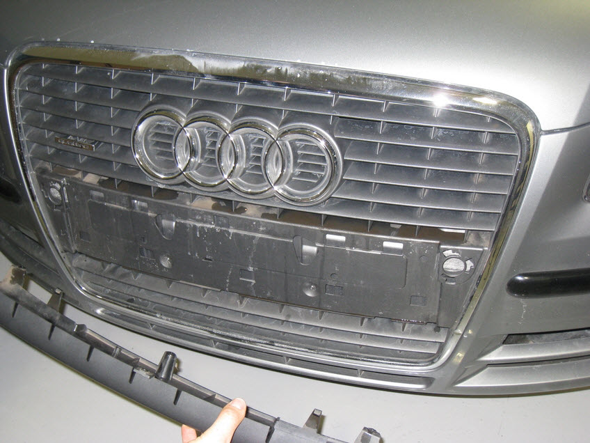Audi A4 B7 Front Plate Delete Europa Parts Blog