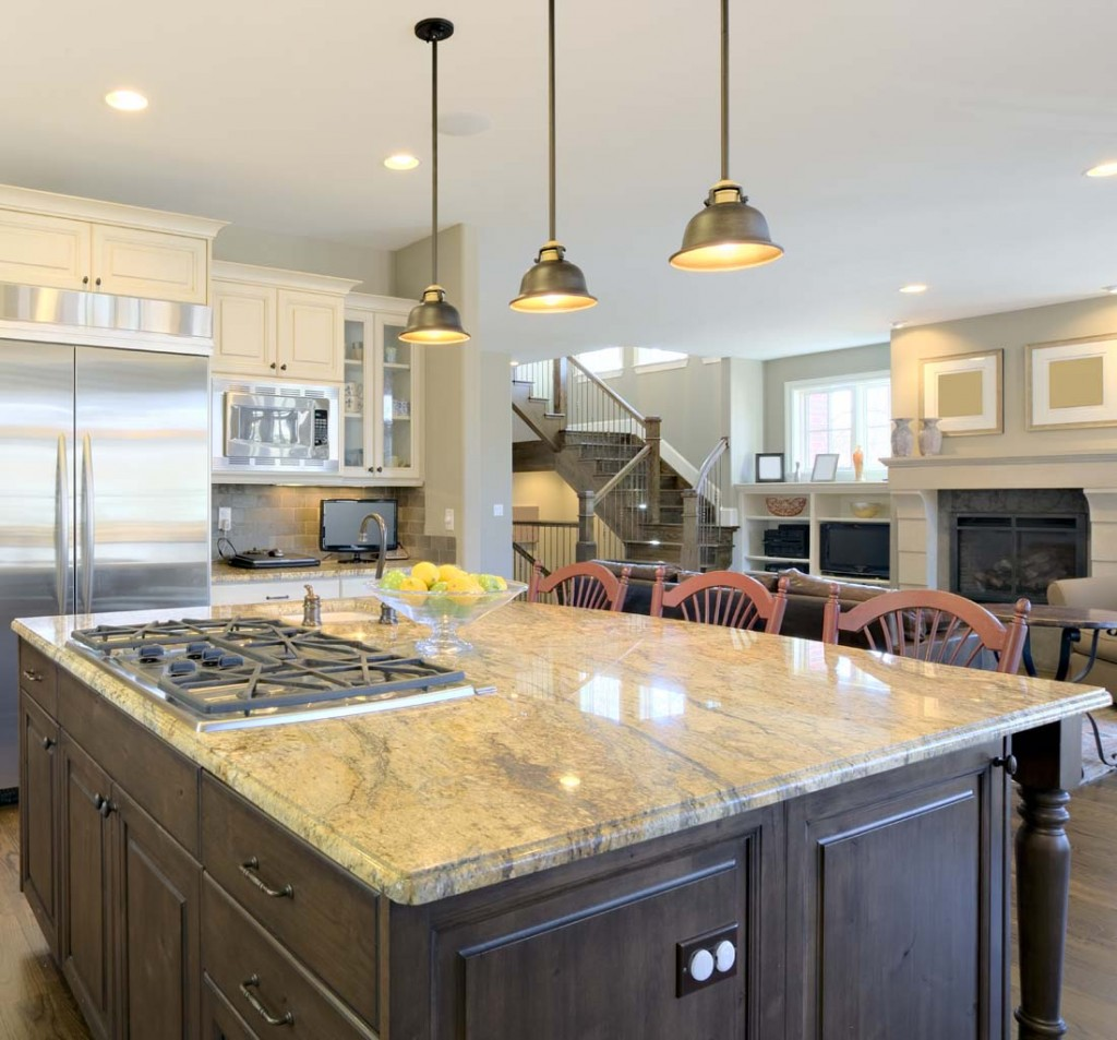 Lighting Fixtures Above Kitchen Island Pendant Lighting Fixture Placement Guide For The Kitchen