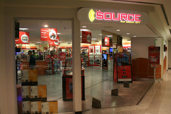 The Source outlet in Eaton Centre downtown