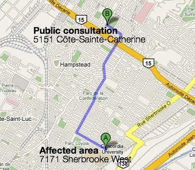 Google Map: A long way to walk