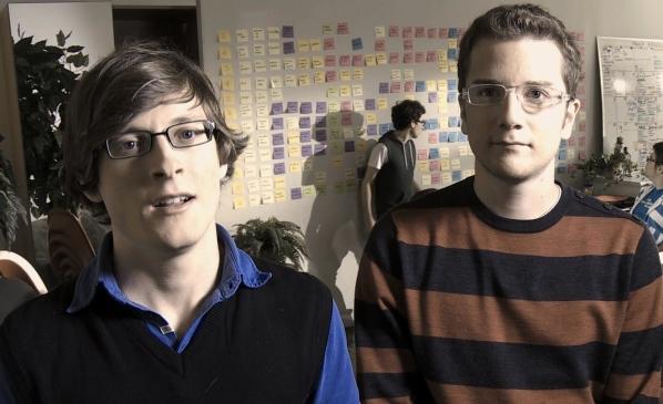 Julien Corriveau and Dominic Montplaisir of Les Appendices