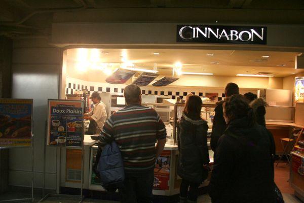 Cinnabon near Place Bonaventure