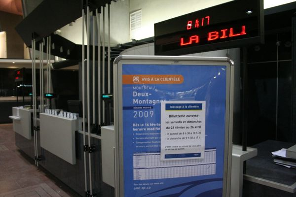 It's only 1:15am, why is the ticket counter closed?