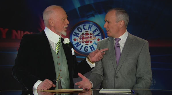 Don Cherry and Ron MacLean 2