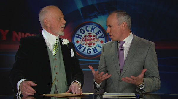 Don Cherry and Ron MacLean 6